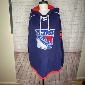 Reebok Official NY Rangers Hoodie size L